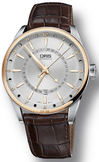 Montre Oris Artix Pointer Moon Date Bicolore