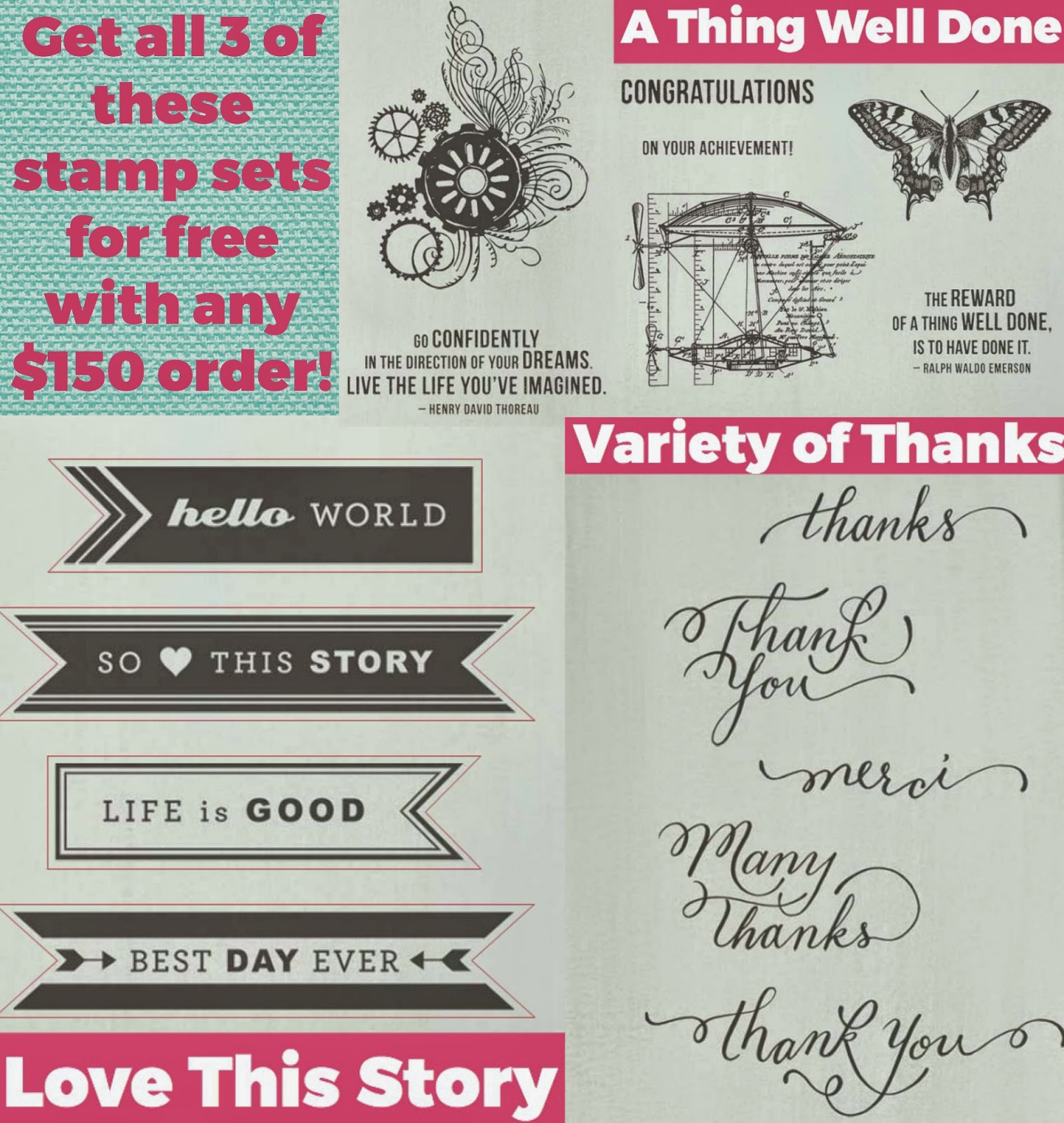 Free stamps!