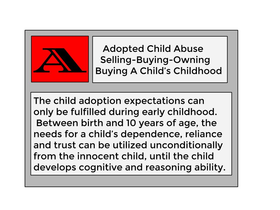 Buying Adopted Childhood