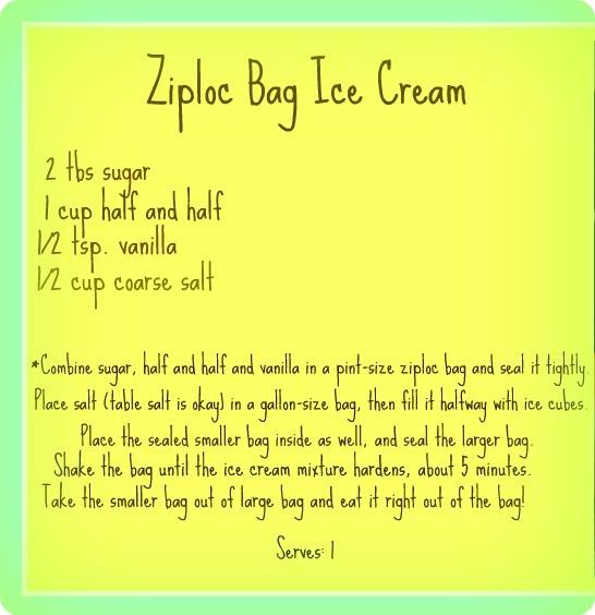 Photos Of Ziploc Bag Ice Cream Recipe