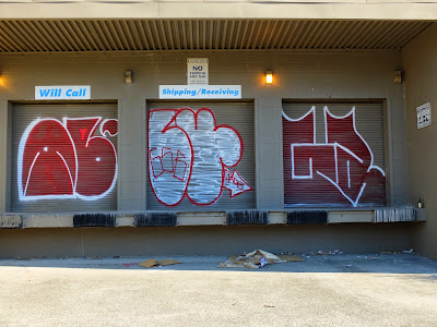 Pieces on the former Northwest Caster Building in Fremont