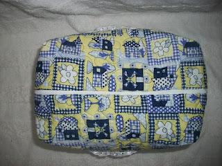 cesta de pão patchwork