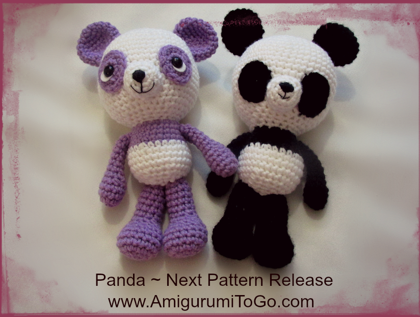 Amigurumi Bigfoot Panda : Next Pattern and More Updates ~ Amigurumi To Go