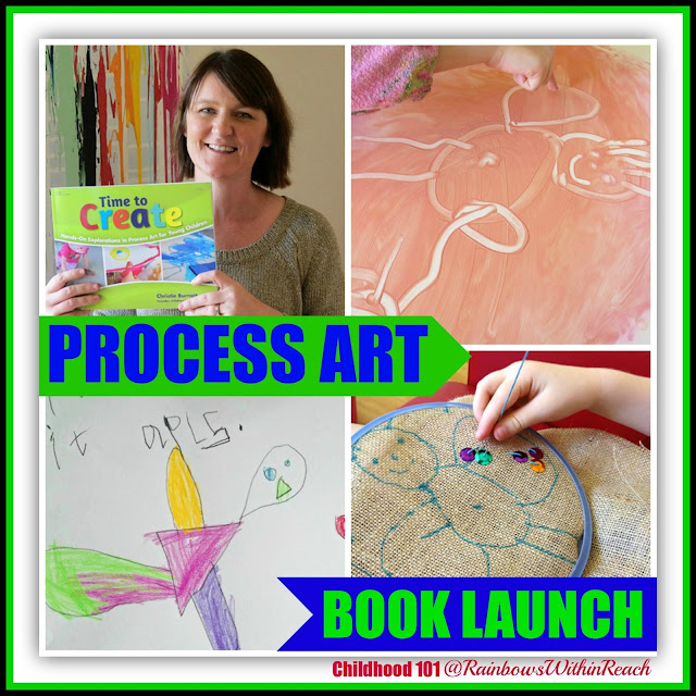 """photo of: """"Time to Create"""" Book Launch: 'Hands-On Explorations in Process Art for Young Children'"""