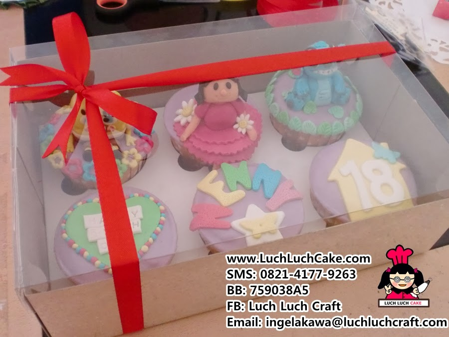 cupcake set daerah surabaya sidoarjo