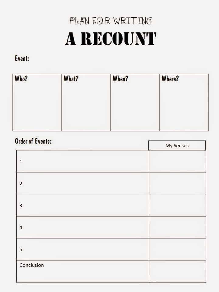 personal recounts a day in the
