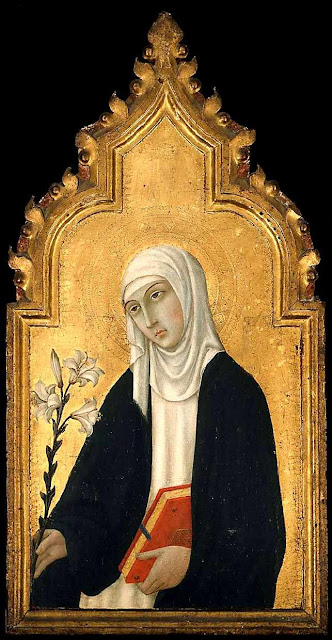 Santa Catalina de Siena. Sano di Pietro.