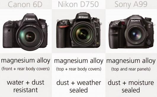 Nikon D750 specs, Canon EOS 6D specs, Canon vs Nikon, Nikon review, Canon review, Full Frame camera, D750 full-frame,