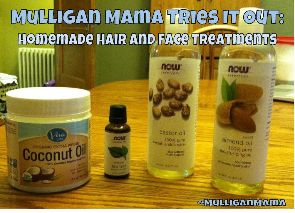 Mulligan Mama Tries It Out: Homemade Hair and Face Treatments