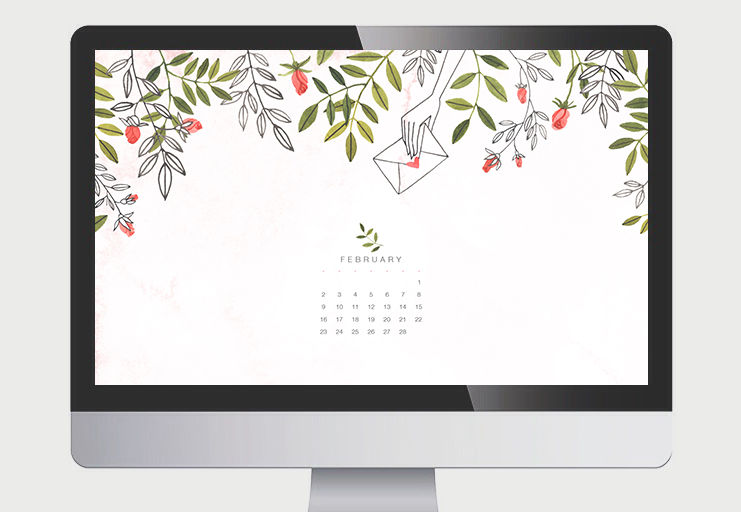 http://oanabefort.com/2014/01/february-calendar/