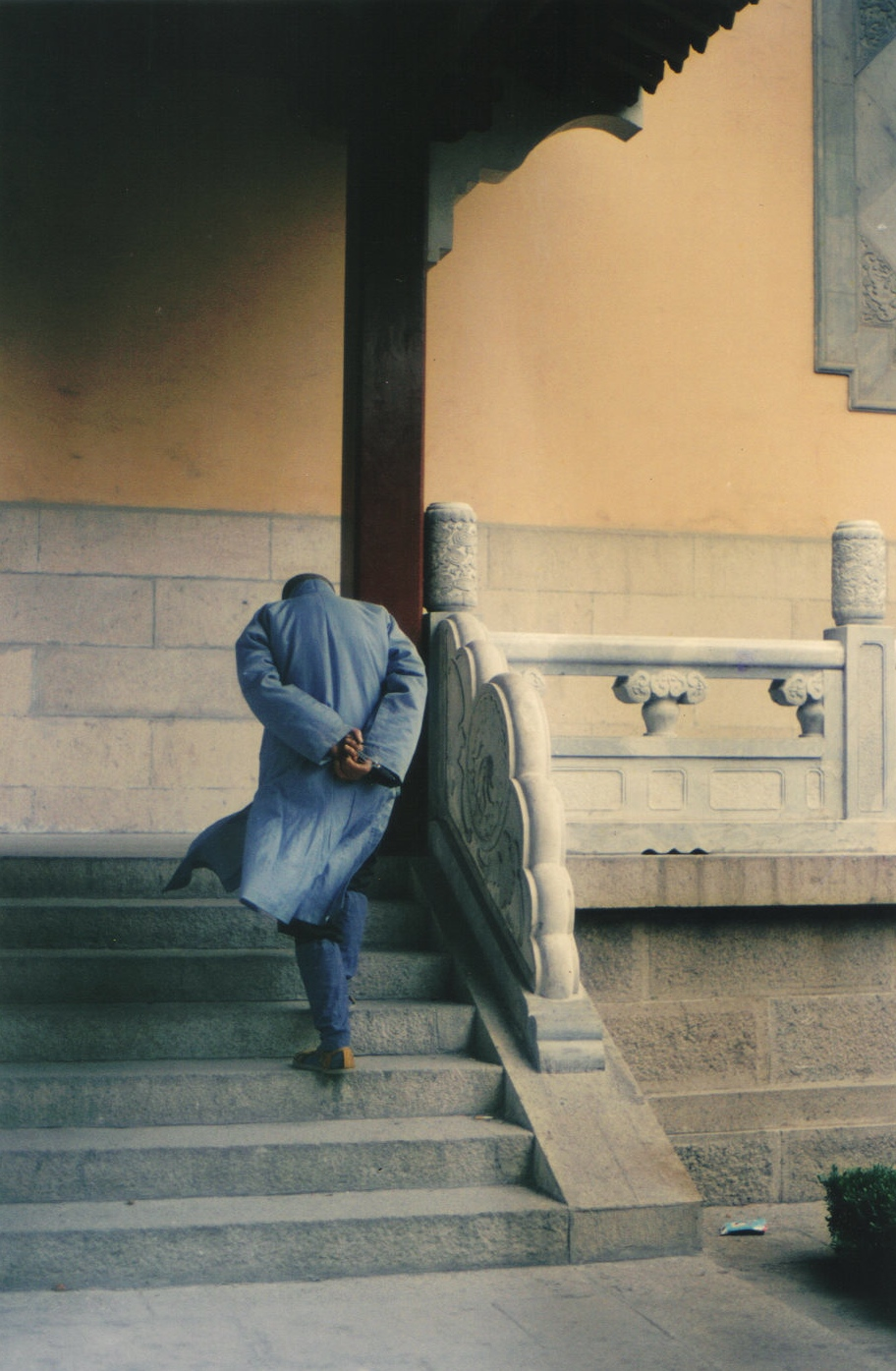 """Mindless Monk"", Beijing China 1989 by Karin Lisa Atkinson"