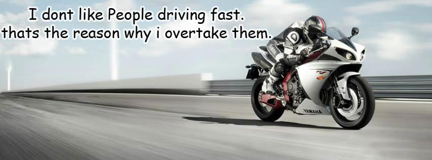 Why I Overtake Others