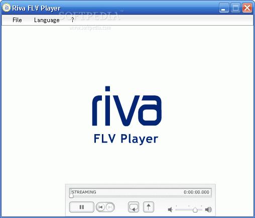 افضل برنامج لتشغيل flv - Riva FLV Player 1.2