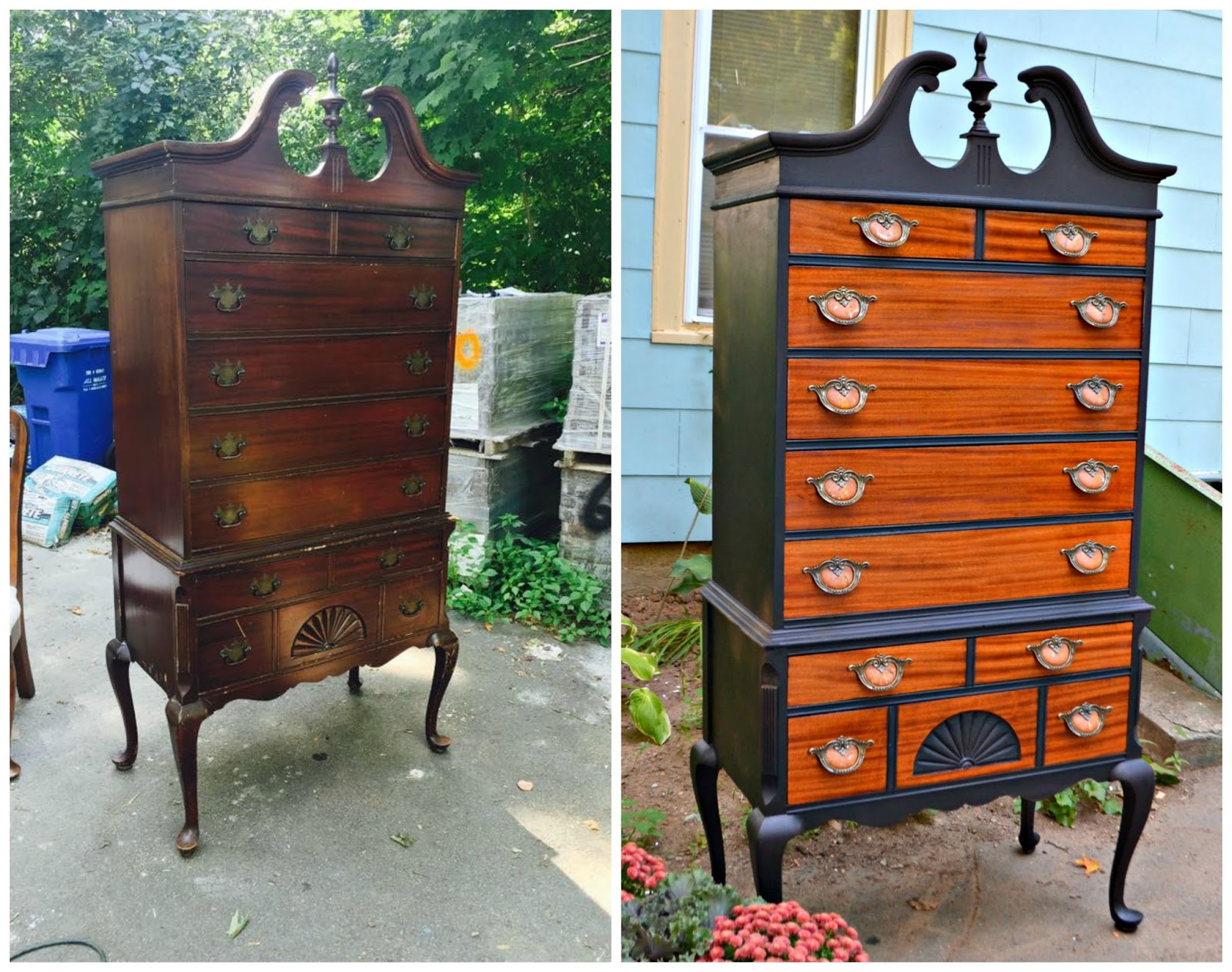 of llc drawers consignment with dresser highboy p chest design