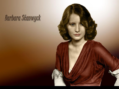 American Actress Barbara Stanwyck Wallpaper