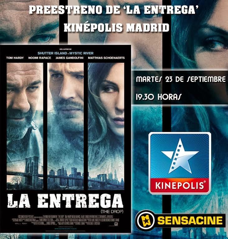 Kinepolis Sensacine, concurso La Entrega