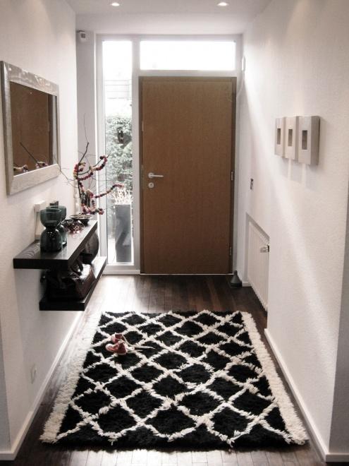 Dekolor la casa de frida la casa cambiante recibidor - Alfombras para recibidor ...
