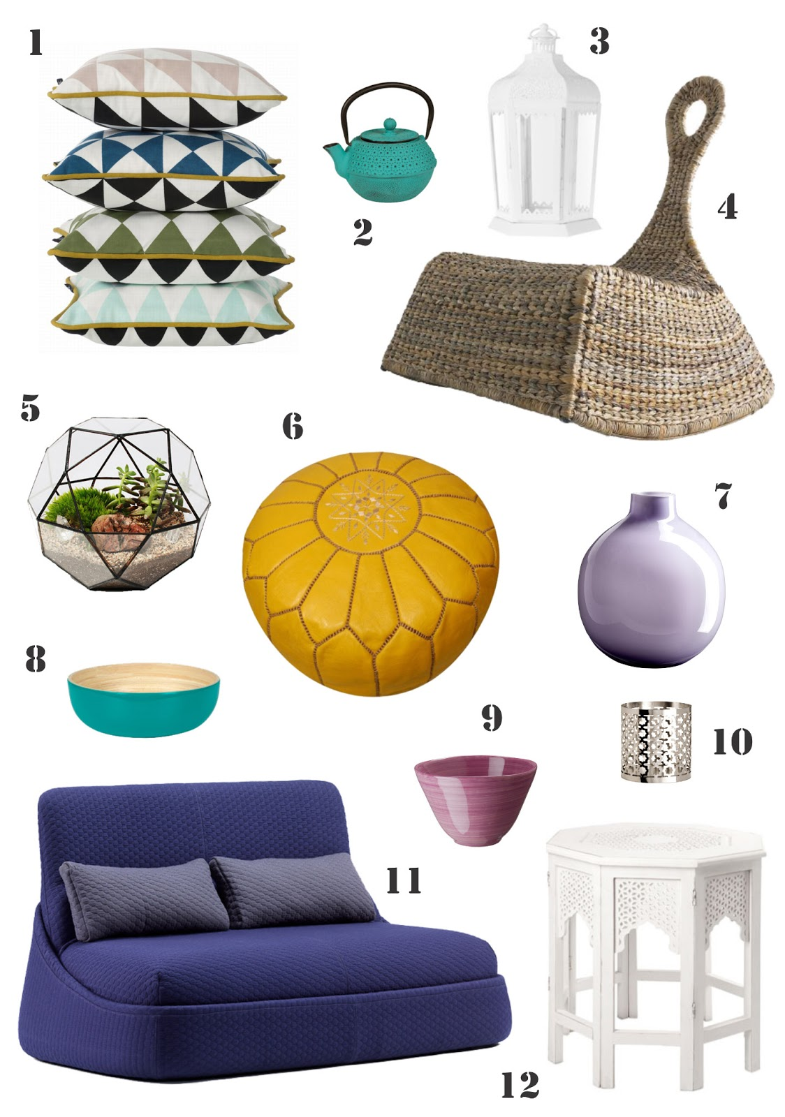 Bells and Feathers: Outdoor decor | Moroccan style