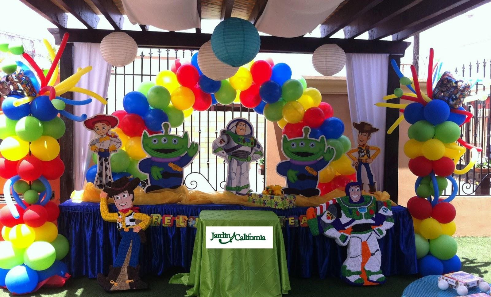 Decoracion Para Fiestas Infantiles De Toy Story