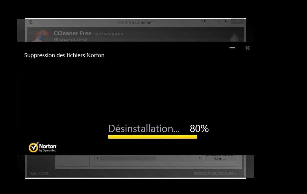 avec windows 8.1 norton ou defender comme antivirus