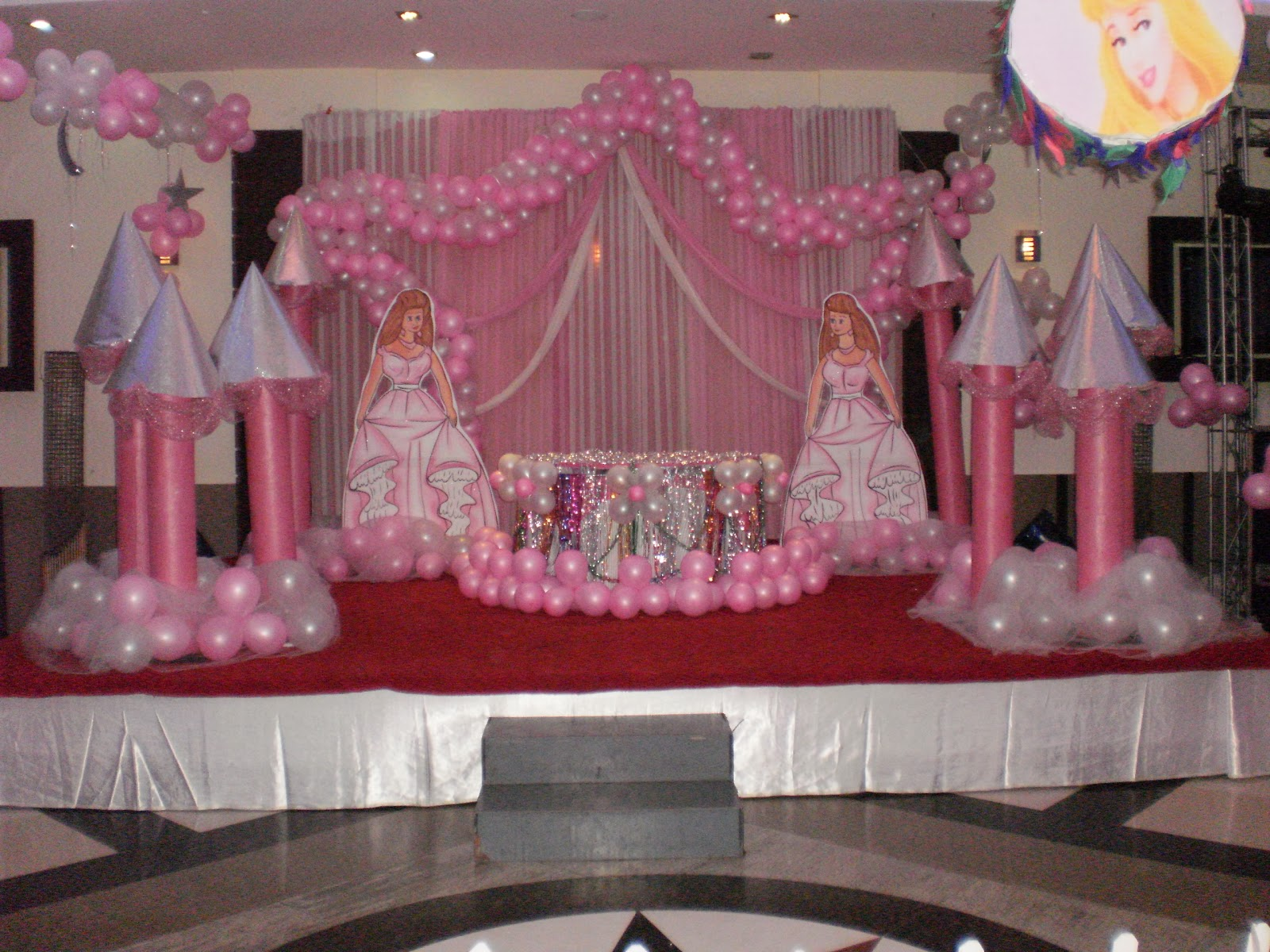Cake Decorating Party Ideas : Cake table decoration Birthday organisers delhi