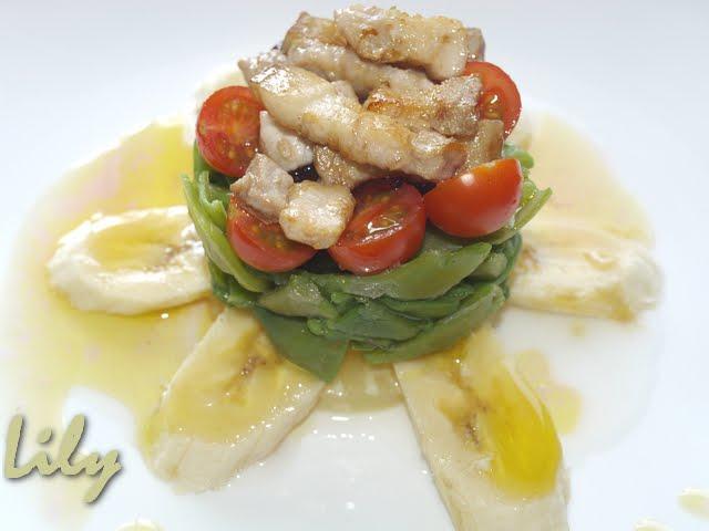 Delici s mos ensalada tropical de judias verdes - Ensalada de judias verdes arguinano ...