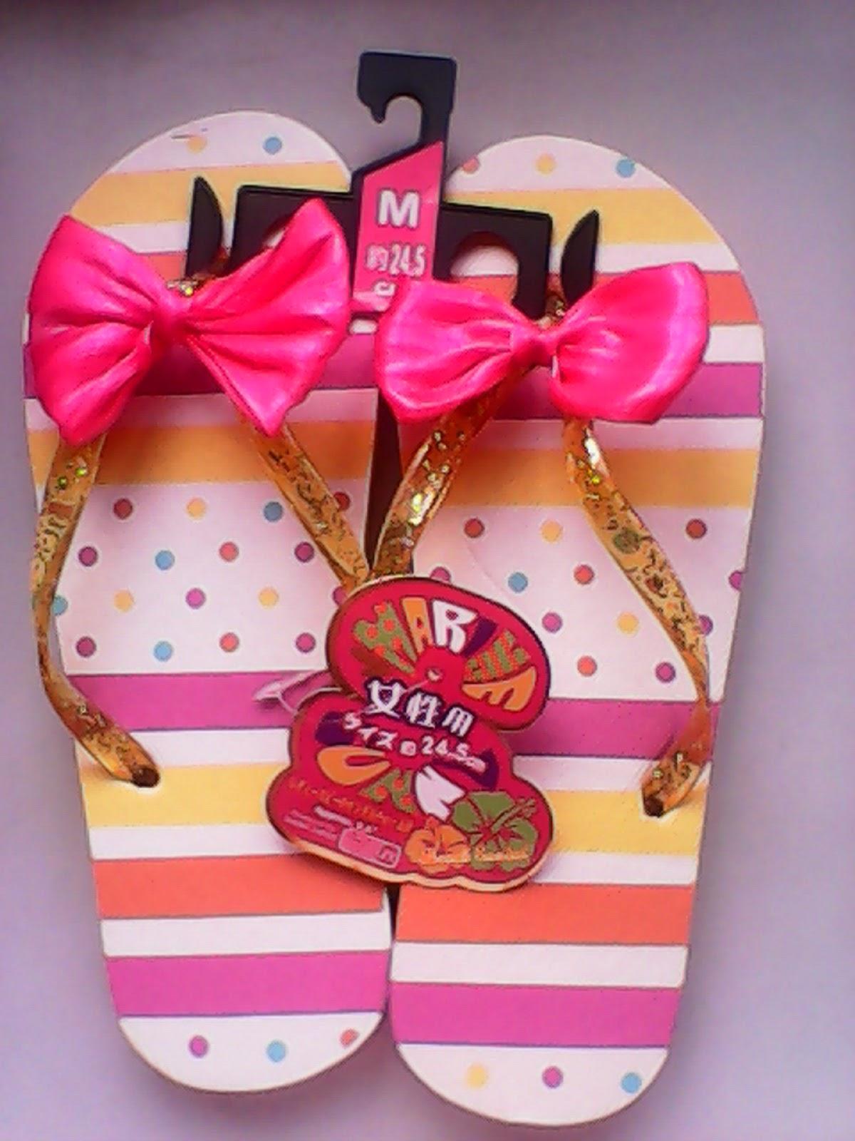 Kabadingan And Beyond: OOTD: Polka Dots & Beribboned Flip Flops for ...