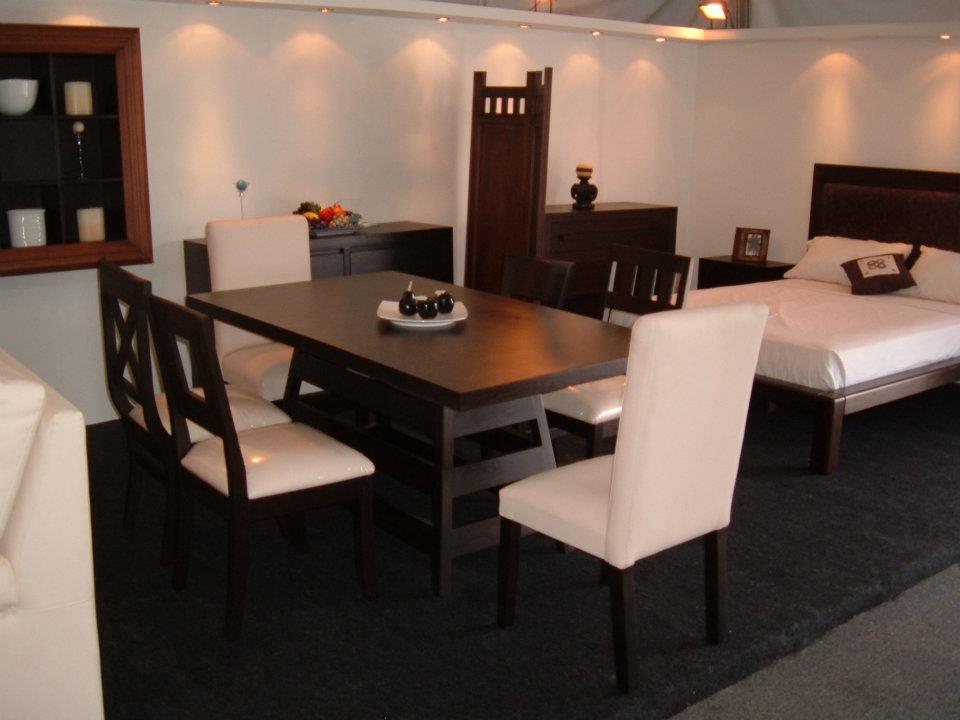 El artesano del mueble juegos de comedor for Tipos de sillas para comedor