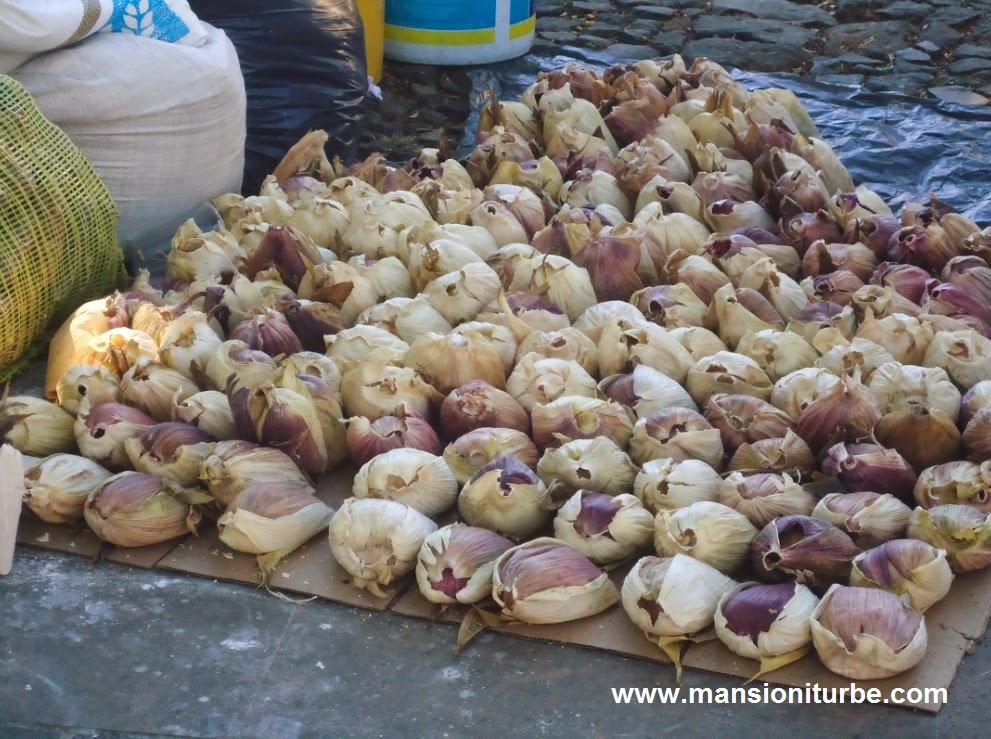 Tamales de Harina de Trigo en Semana Santa en Pátzcuaro