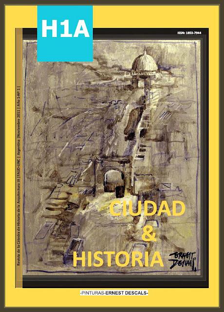 HISTORIA-ARQUITECTURA-REVISTAS-GERMANIA-PINTURA-ARTE-PINTOR-ERNEST DESCALS-