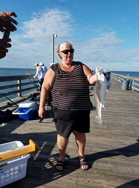 Lynnhaven fishing pier fishing report for sat oct 28th for Lynnhaven fishing pier report