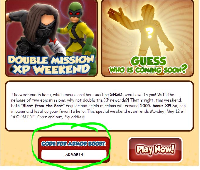 Super Hero Squad Online Codes 2014