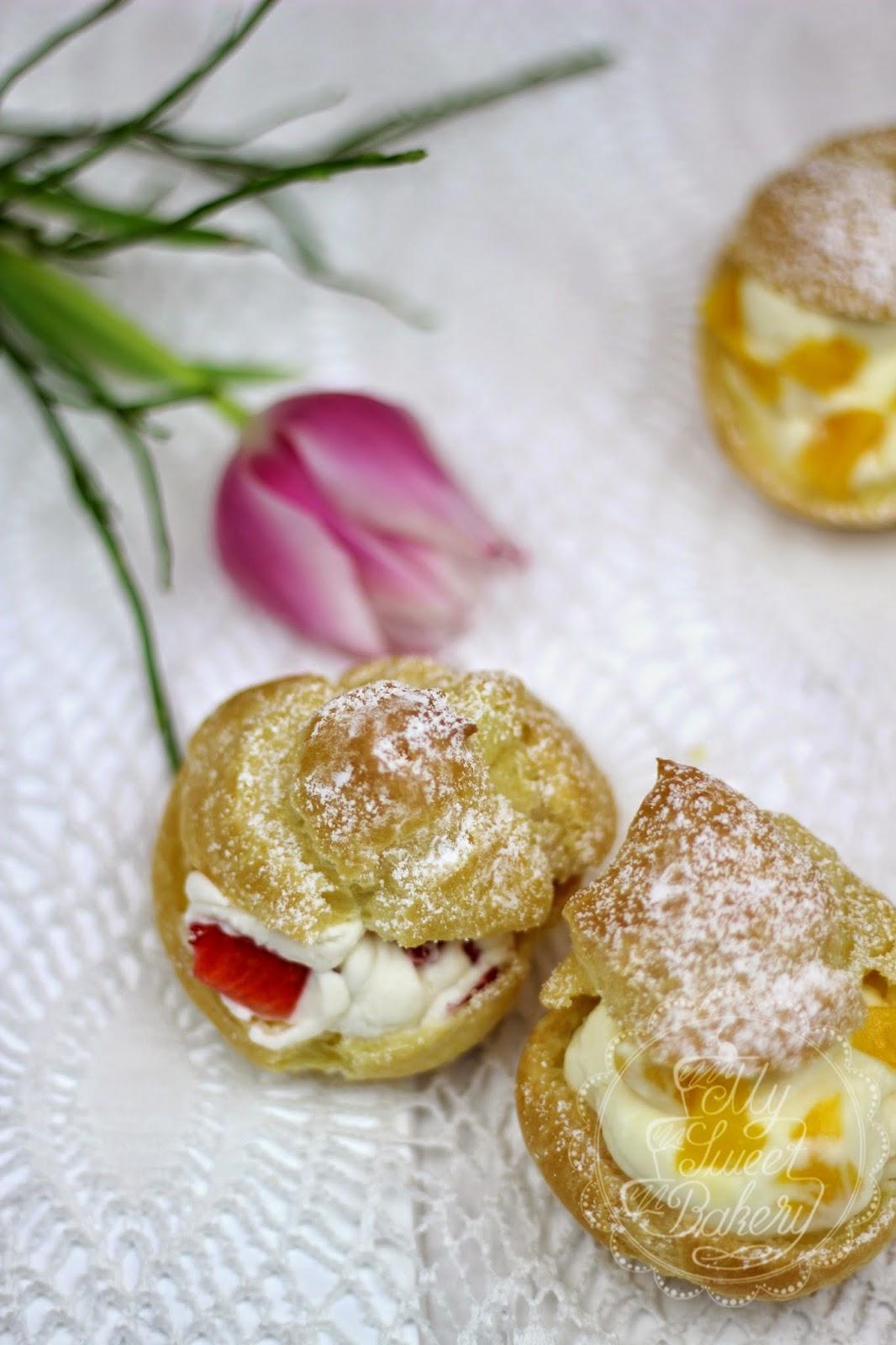 Windbeutel Füllen Ohne Aufschneiden : my sweet bakery windbeutel mit einer erdbeersahne oder ~ Lizthompson.info Haus und Dekorationen
