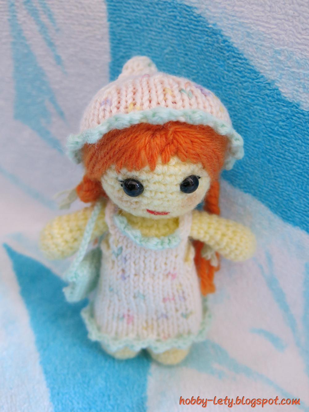 Hobby Lety Uncinetto Amigurumi Varie Tutorial : e volendo si possono togliere i vestiti fatti a maglia e ...