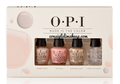 "Preview: kit primavera 2016 ""Nude is the Color"" e ""Color Connection"" - Opi"