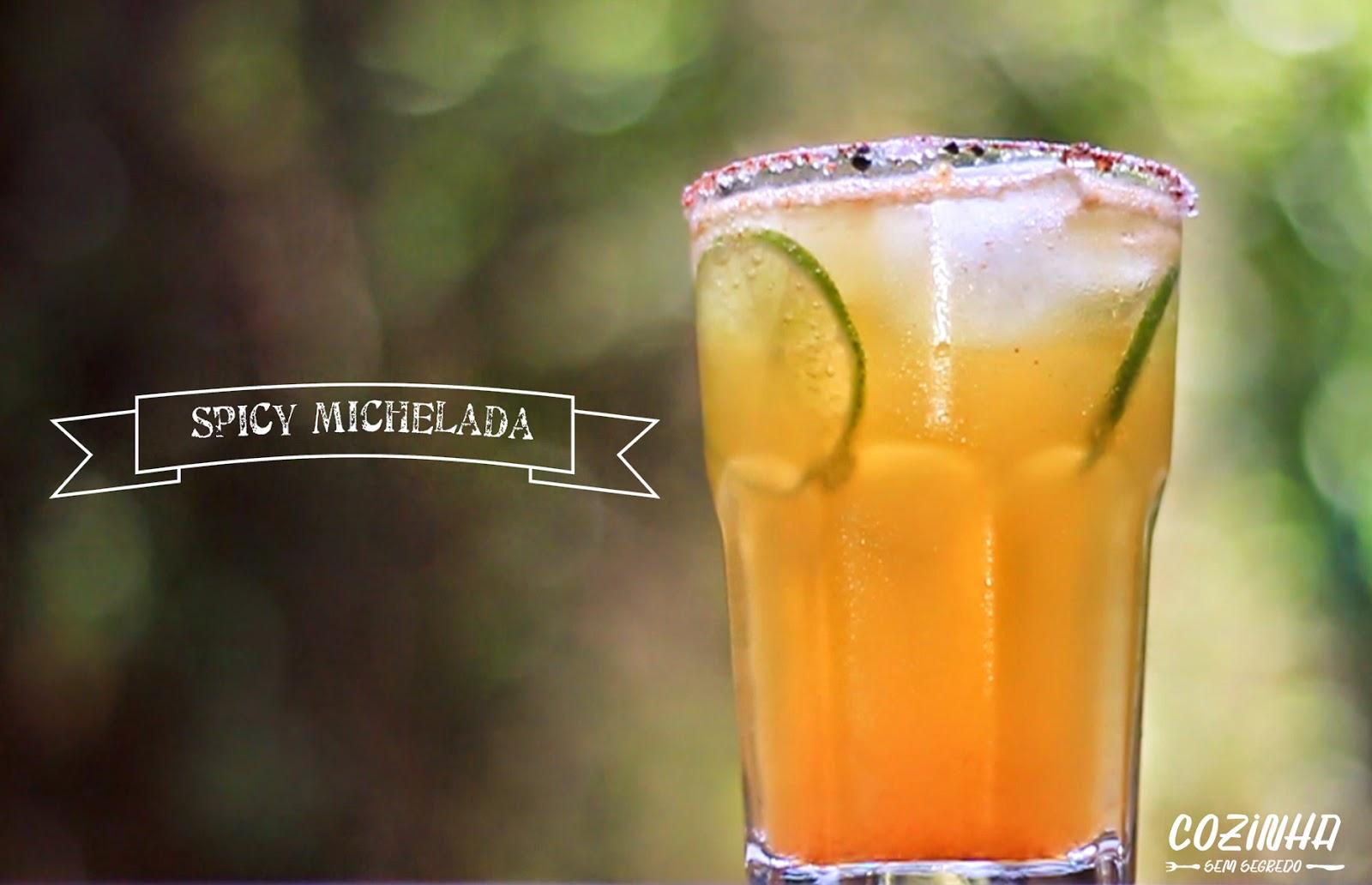 Coquetel com cerveja e limão: spicy michelada