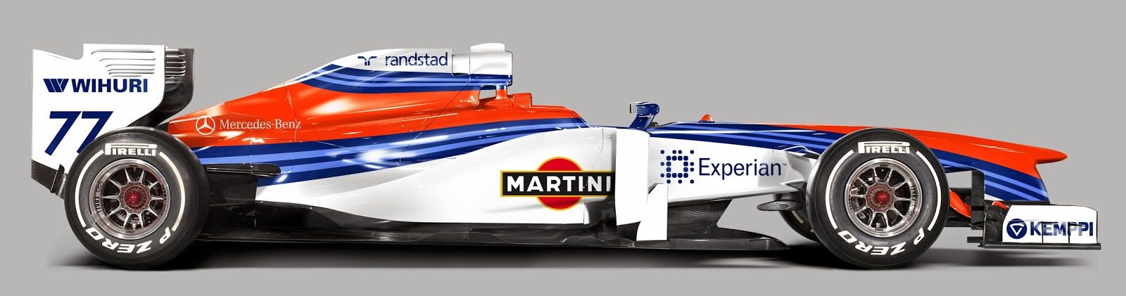 My Version Of The 2014 Williams Martini Livery