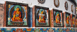 levendig boeddhisme in Ladakh