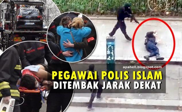Rakaman Saat Anggota Polis Muslim Yang Ditembak Jarak Dekat (Video) http://apahell.blogspot.com/2015/01/rakaman-saat-anggota-polis-muslim-yang.html