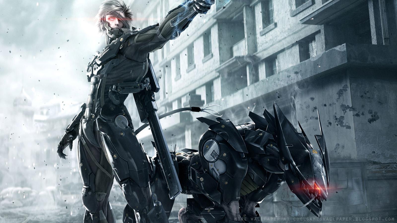metal gear rising: revengeance wallpapers - cool games wallpaper