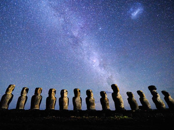easter island nightsky stars 22395 600x450   2 :         