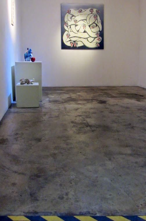 Exhibition view 1, Global Worminc Project by Kokimoto, SSEE Space, Daejeon, South Korea