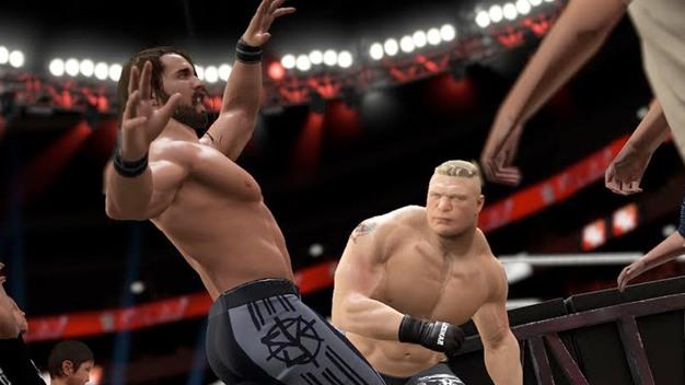 تحميل لعبة المصارعة WWE 2K17 للكمبيوتر مجانا WWE-2K17-Setup-Free-