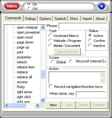 e-Speaking's Software