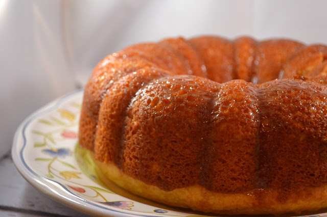 Spiced Rum Bundt Cake Recipe
