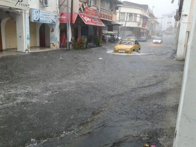 Gambar Keadaan Banjir Di Melaka Jun 2015