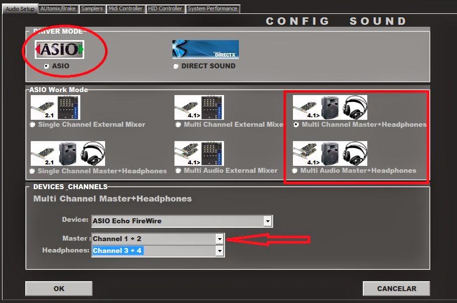 Pengaturan sound Dj pro mixer