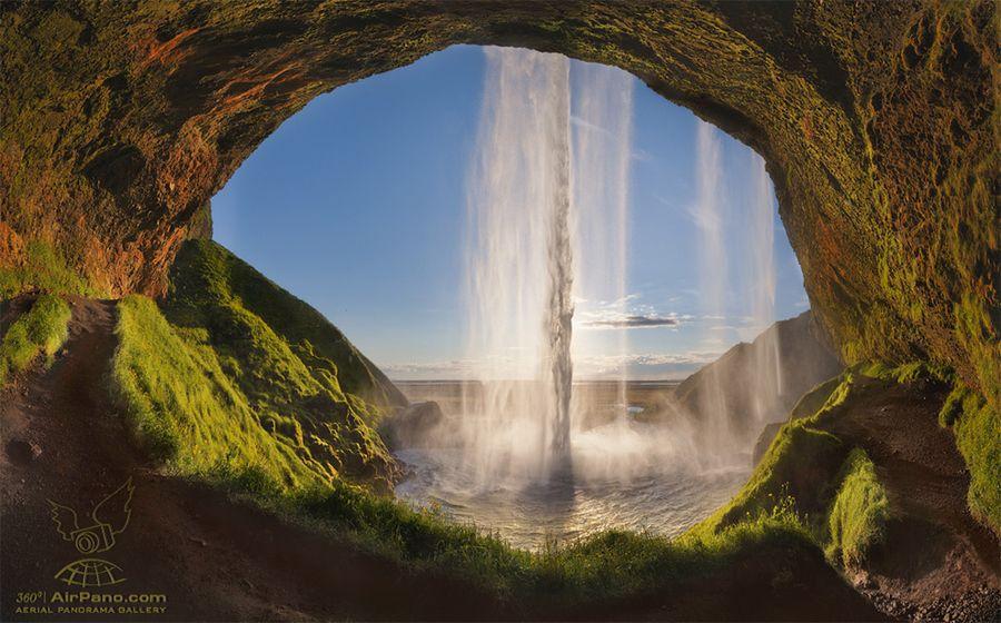 7. Seljalandsfoss from Inside by Mike Reyfman