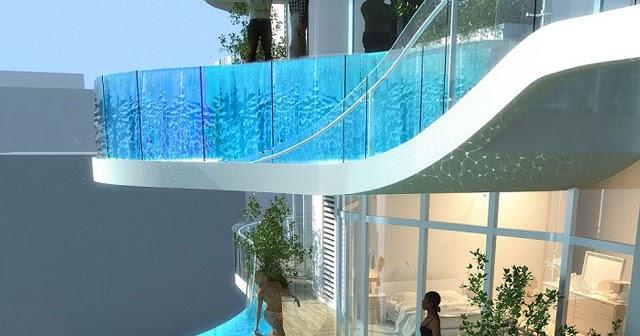 Zwembad Op Balkon : Balkon zwembad