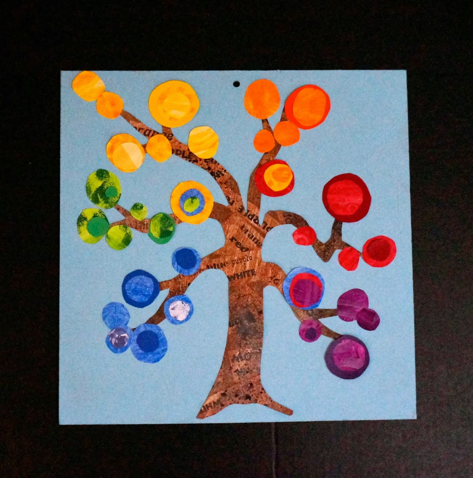 That Artist Woman Colour Wheel Trees